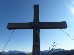 Gipfelkreuz Nesslauer Schneid