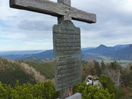Gipfelkreuz Thorauschneid