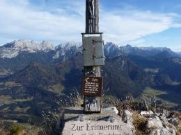 Gipfelkreuz Grubhörndl
