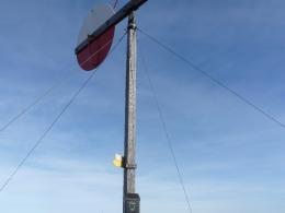 Gipfelkreuz Wetterfahne
