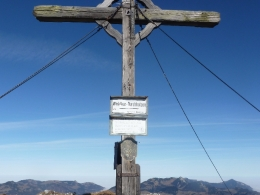 Gipfelkreuz Pyramidenspitze