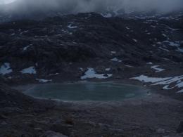 Hoher Gjaidstein hinter dem Oberen Eissee