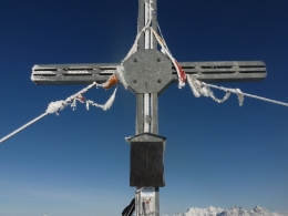 Gipfelkreuz Großer Gebra