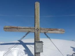 Gipfelkreuz Weißkopfkogel