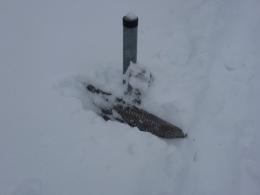 sehr viel Schnee!