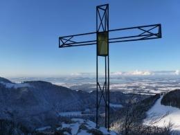 Gipfelkreuz, Name des Berges unbekannt :-)