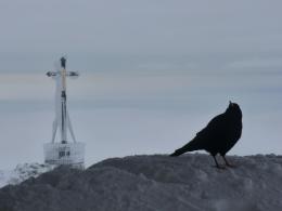 an der Gipfelkapelle