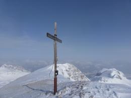 Gipfelkreuz Bleikogel