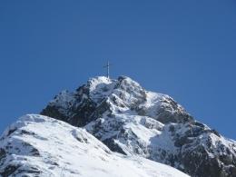 Gipfel Hoher Mahdstein