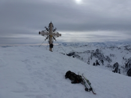 Gipfelkreuz Staffkogel