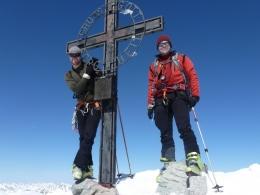 Gipfelkreuz Ruderhofspitze