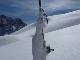 mein neuer 10kg Ski