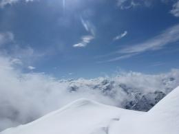 Blick von der Skischarte ins Steinerne Meer