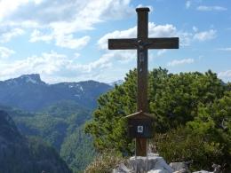 Gipfel Nr. 1, links die Hörndlwand