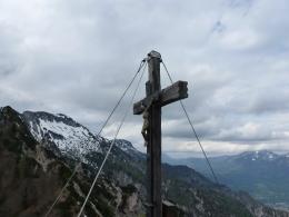 Gipfelkreuz Mittlerer Rotofen