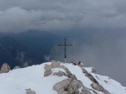Gipfelkreuz Alpspitze