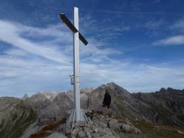 Gipfelkreuz Hochrappenkopf