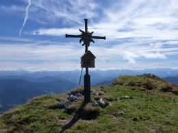 Gipfelkreuz Edelweißkogel