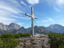 Gipfelkreuz Großes Hundshorn