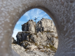 Gipfelkreuz Nockstein