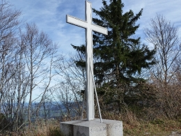Gipfelkreuz Gaisberg