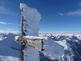Gipfelkreuz Sonnspitze