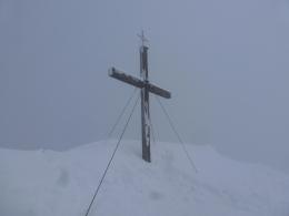 Gipfelkreuz Spitzstein