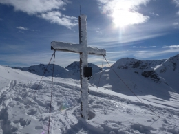 Gipfelkreuz Rauber