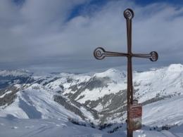 Gipfelkreuz Saalkogel
