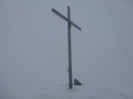 Gipfelkreuz Streicher,  tolle Aussicht