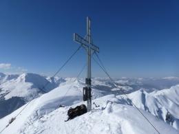 Gipfelkreuz Gerstinger Joch