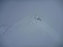 am Gipfelgrat