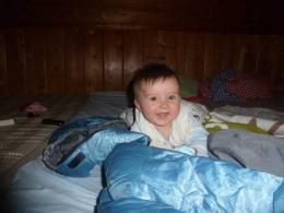 erste Nacht im Matratzenlager