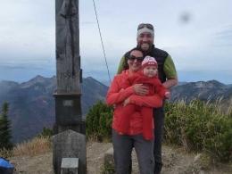 Gipfel Hochplatte