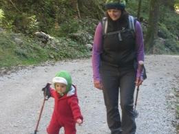 zwei Wandersfrauen