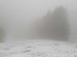 etwas wenig Schnee :-))