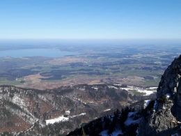 Frühling am bayerischen Meer