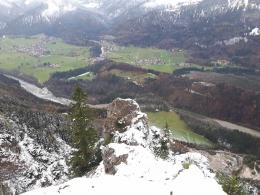 heute unerreichbares Gipfelkreuz