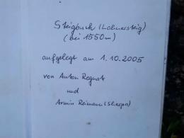 Steigbuch