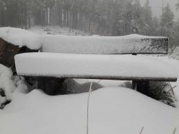 Schneehöhenmessstation