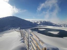 der neu enstandene Gipfelsee