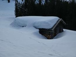noch ordentlich Schnee