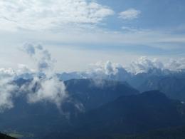Berchtesgadener Wolkenshow