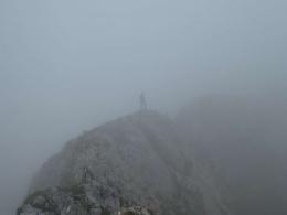 Gratwanderung in den Wolken