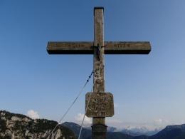 am zweiten Gipfelkreuz